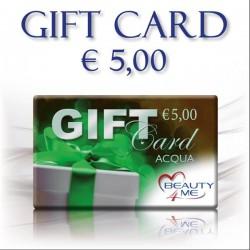 GIFT CARD ACQUA € 5,00