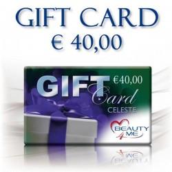 GIFT CARD CELESTE € 40,00