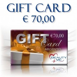 GIFT CARD ARGENTO € 70,00