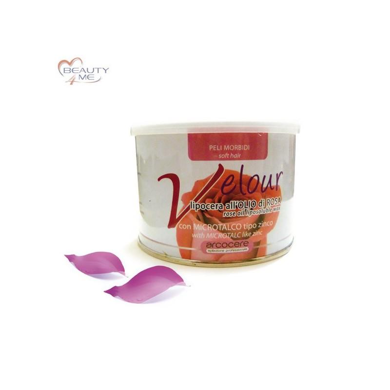 Cera Olio di Rosa in Vaso 400 gr. Velour