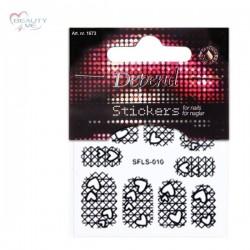Sticker Cuori adesivi unghie