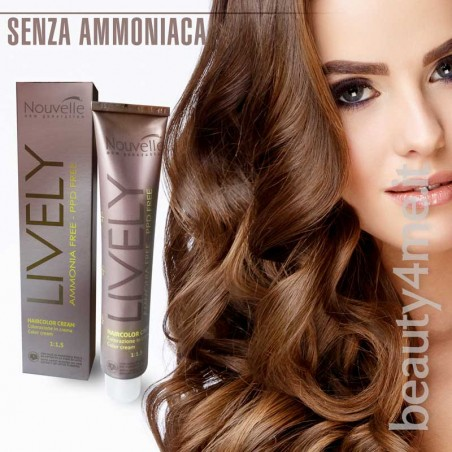 Beauty4me Colore Biondo Rame 7.4  Nouvelle Lively