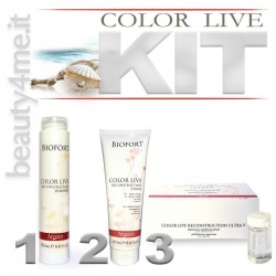 beauty4me biofort color live kit tinti