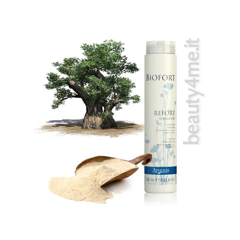 beauty4me biofort refort shampoo anticaduta 250ml