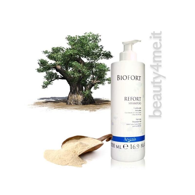 beauty4me biofort refort shampoo anticaduta 500ml
