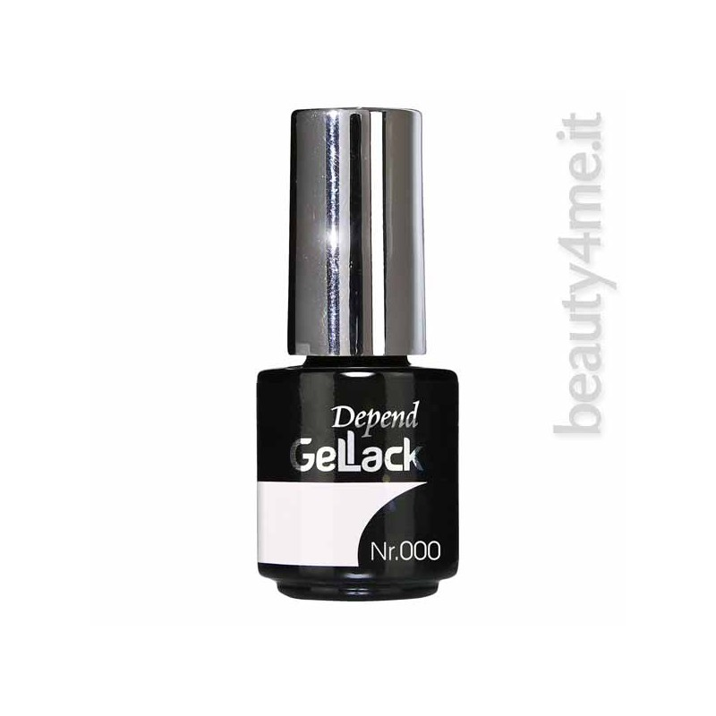 beauty4me depend gellack colore 000 smalto semipermanente