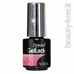 beauty4me Depend GelLack colore 003 smalto semipermanente