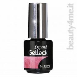 beauty4me Depend GelLack colore 003 smalto semipermanente