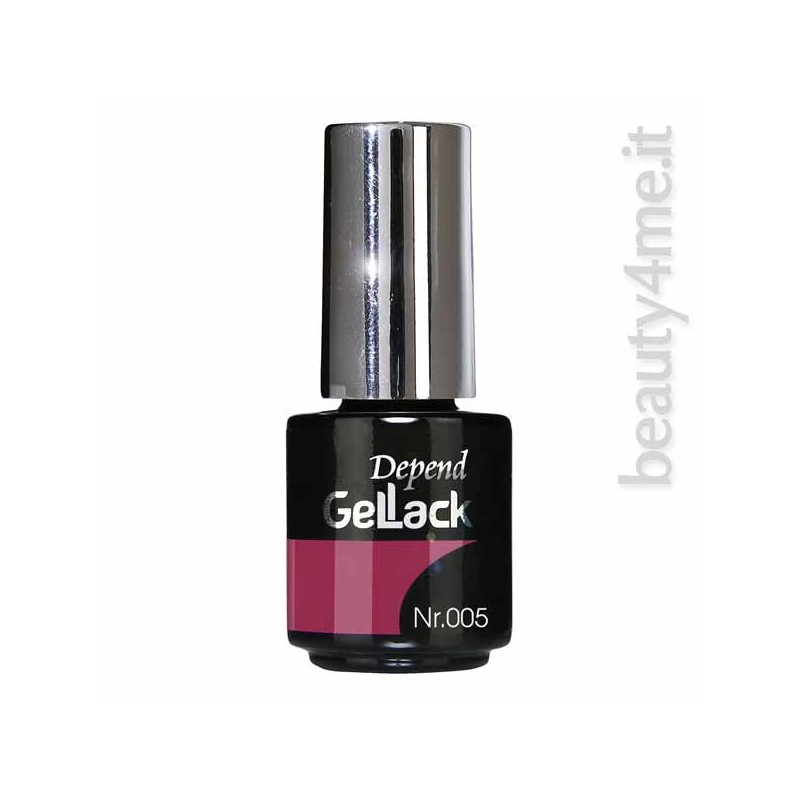 beauty4me Depend GelLack colore 005 smalto semipermanente