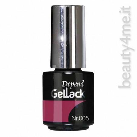 beauty4me Depend GelLack colore 005 smalto semipermanente