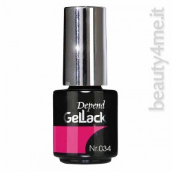 beauty4me Depend GelLack colore 034 smalto semipermanente