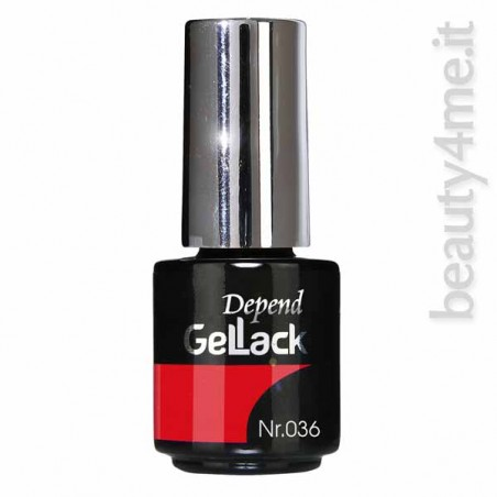 beauty4me Depend GelLack colore 036 smalto semipermanente