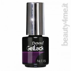 beauty4me Depend GelLack colore G115 smalto semipermanente
