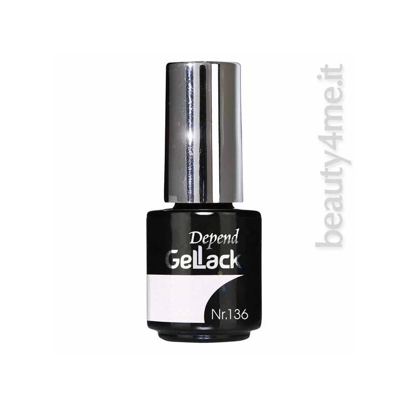 beauty4me Depend GelLack colore G136 smalto semipermanente