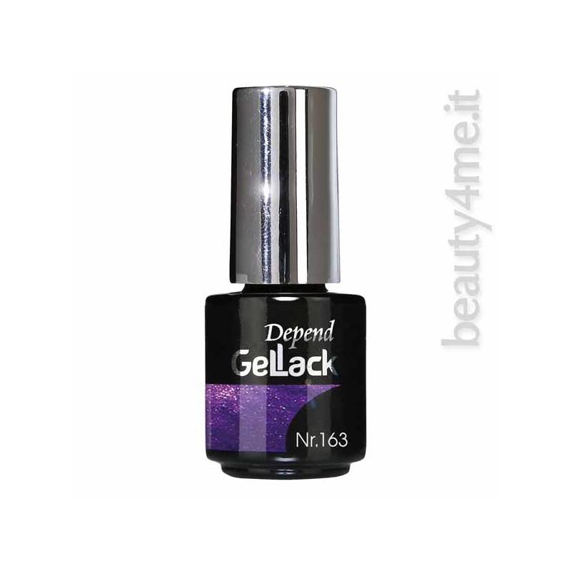 beauty4me Depend GelLack colore G163 smalto semipermanente