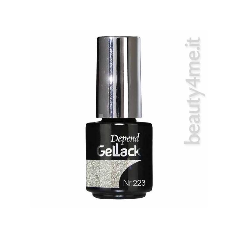 beauty4me Depend GelLack colore G223 smalto semipermanente