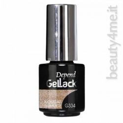 beauty4me Depend GelLack colore G334 smalto semipermanente