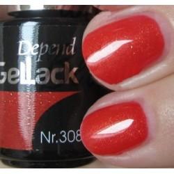 beauty4me Depend GelLack colore G308 smalto semipermanente