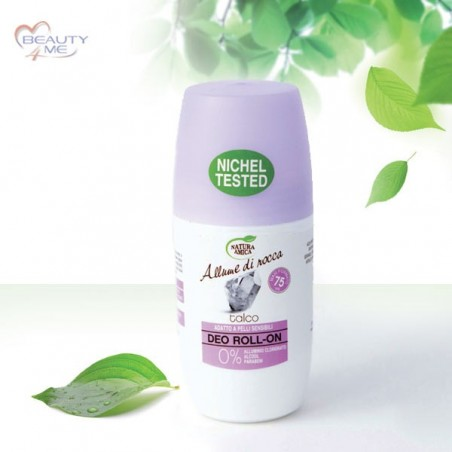 Deo roll-on talco 75 ml Natura Amica