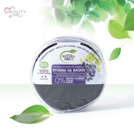 Spugna da bagno uva 45 gr Natura Amica