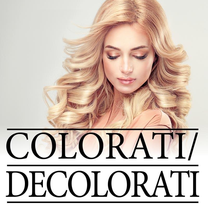 Soluzioni per Capelli Colorati / Decolorati